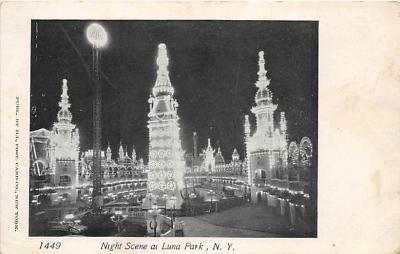 amp100115 - Amusement Park Postcard Post Card