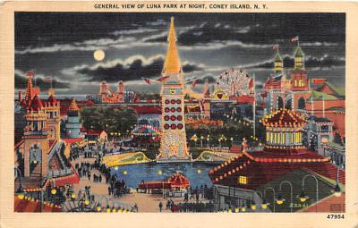 amp100130 - Amusement Park Postcard Post Card