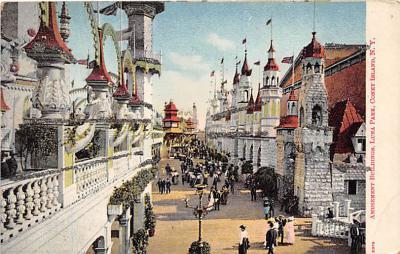 amp100144 - Amusement Park Postcard Post Card