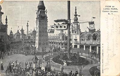 amp100157 - Amusement Park Postcard Post Card