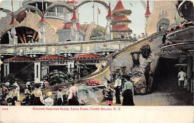 amp100161 - Amusement Park Postcard Post Card
