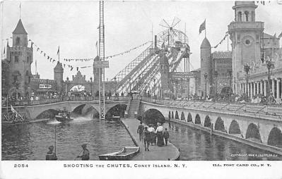 amp100162 - Amusement Park Postcard Post Card