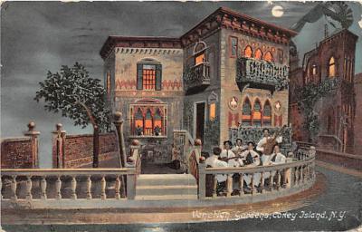 amp100163 - Amusement Park Postcard Post Card
