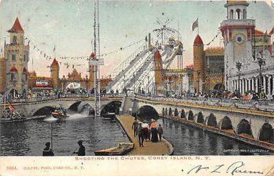 amp100165 - Amusement Park Postcard Post Card
