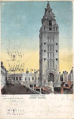 amp100174 - Amusement Park Postcard Post Card