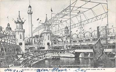 amp100180 - Amusement Park Postcard Post Card