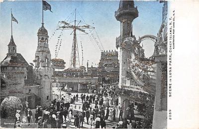 amp100187 - Amusement Park Postcard Post Card