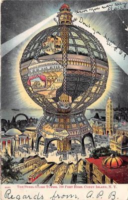 amp100197 - Amusement Park Postcard Post Card