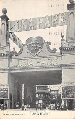 amp100205 - Amusement Park Postcard Post Card
