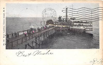 amp100220 - Amusement Park Postcard Post Card