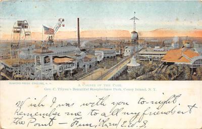 amp100225 - Amusement Park Postcard Post Card