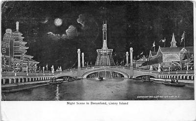 amp100227 - Amusement Park Postcard Post Card