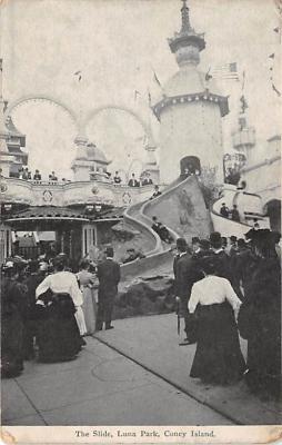 amp100229 - Amusement Park Postcard Post Card