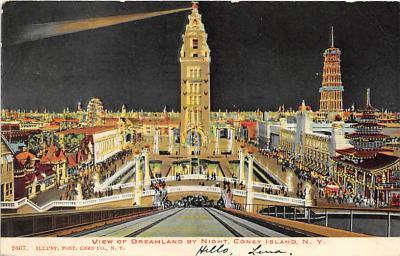 amp100230 - Amusement Park Postcard Post Card