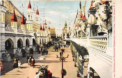 amp100231 - Amusement Park Postcard Post Card
