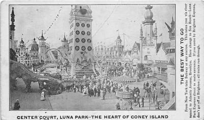 amp100235 - Amusement Park Postcard Post Card