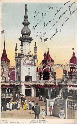amp100236 - Amusement Park Postcard Post Card