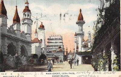 amp100241 - Amusement Park Postcard Post Card