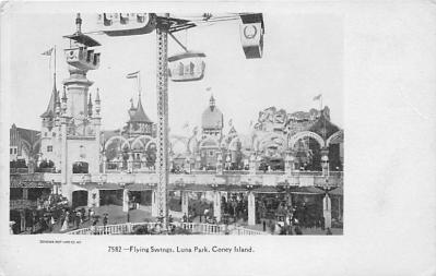 amp100276 - Amusement Park Postcard Post Card