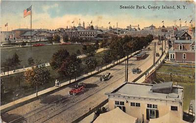 amp100290 - Amusement Park Postcard Post Card