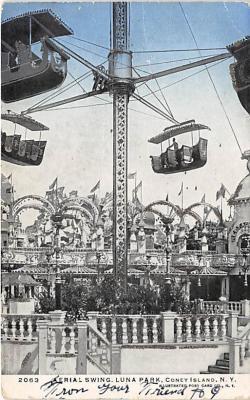 amp100331 - Amusement Park Postcard Post Card