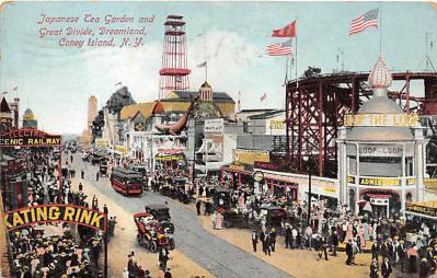 amp100353 - Amusement Park Postcard Post Card