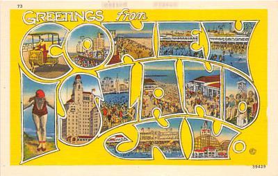 amp100516 - Amusement Park Postcard Post Card