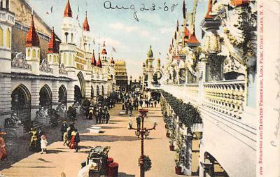 amp100989 - Amusement Park Postcard Post Card