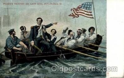 amr001039 - Victory on Lake Erie American History Postcard Post Card