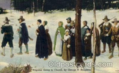 Pilgrims Going to Church, Boughton