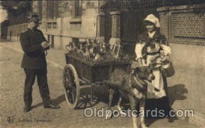 and000023 - Laitiere Flamande Animal Drawn Postcard Post Card