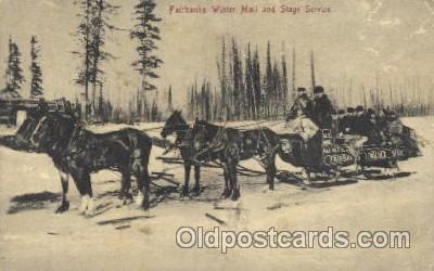 Fairbanks Winter Mail and Stage Service