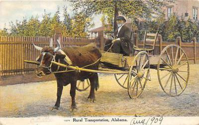 Rural Transportation, Alabama, USA