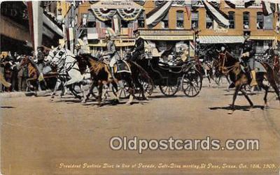 President Porfirio Dioz, Parade
