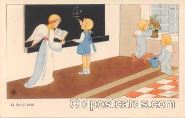 ang001010 - Angel Angels Postcard Post Card