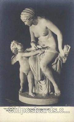 ang001042 - Cupid disaemed Angel, Angels, Postcard Post Card