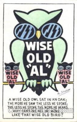 ani001132 - Owl Animal Postcard Post Card