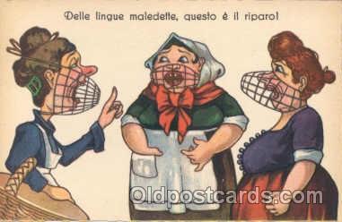 ant000012 - Anti Woman Postcard Post Card