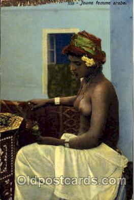 arb000089 - Arab Nude Nudes Postcard Post Card