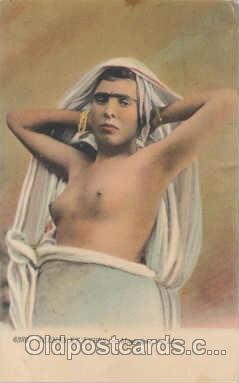 arb001023 - Arab Nude Nudes Postcard Post Card