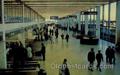 arp001047 - Chcago O Hare International Airport, Chicago, IL USA Airport, Airports Post Card, Post Card