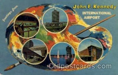 arp001049 - Jonh F Kennedy International Airport, NYC NY USA Airport, Airports Post Card, Post Card
