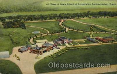arp001052 - lockport-Joliet, IL USA Airport, Airports Post Card, Post Card