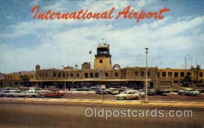 arp001055 - internaitonal Airport, El Paso, TX USA Airport, Airports Post Card, Post Card