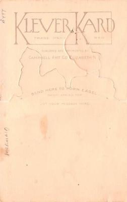 art053015 - Rose O'Neill, pop out Kewpies Postcard Post Card  back
