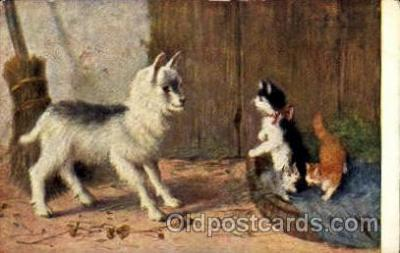 Series 195 Artist Sperlich Cat, Cats Post Card Post Card