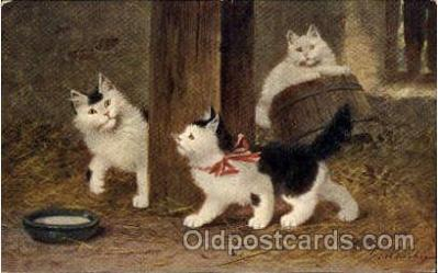 Series 545 Artist Sperlich Cat, Cats Post Card Post Card