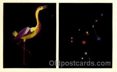 ast001020 - Grus The Crane Astrology Postcard Post Card