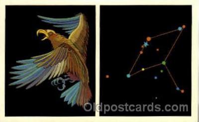 ast001026 - Aquila The Eagle Astrology Postcard Post Card