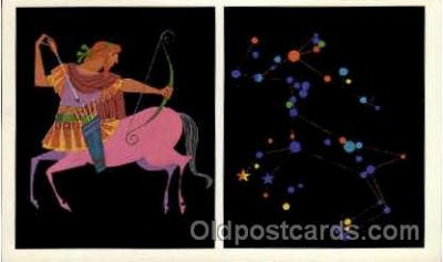 ast001027 - Centaurus The Centaur Astrology Postcard Post Card